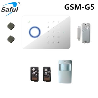 Saful GSM-G5 GSM/SMS/RFID Touch Alarm System