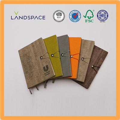 Leather Soft Cover Journal Notebook With Elastic Band