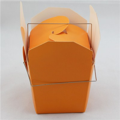 Orange Blank Noodles Box