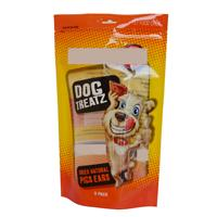 Plastic Zipper Stand Up Pet Food Bags