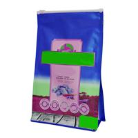 Plastic Zipper Quad Seal Pet Food Bags