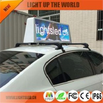 LS1828A  taxi roof led display company