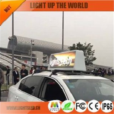 LS1828B led taxi display screen factory