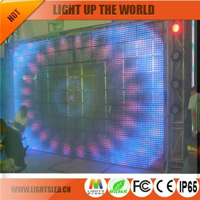 P10.25 curtain led display importers