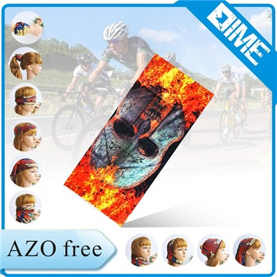 Colorful Multifunctional Sport Bandana With High Quality Fabric