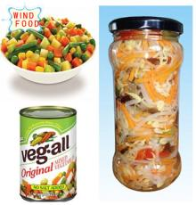 canned mixed vegetables in high quality and great taste