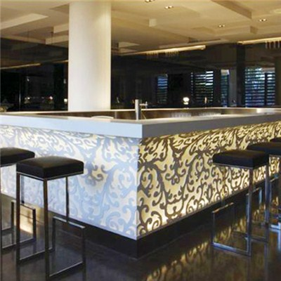 Big Clube 4 Sides Large Customized Bar Counter
