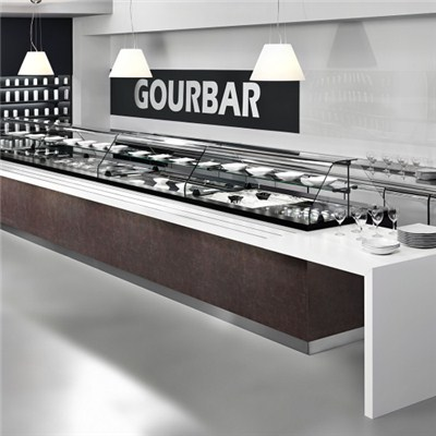 Solid Surface Buffet Bar Counter