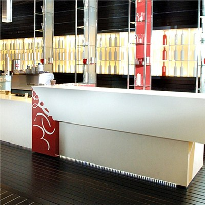 Modern Design Solid Surface Bar Counter