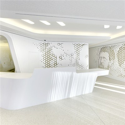 Corian Reception Desks