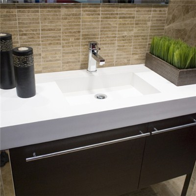 Customzied Corian Vanity