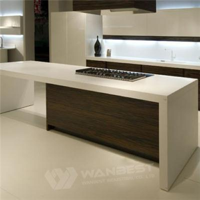 Modern Customzied High Quality Solid Surface Aclylic Marble Kitchen Counter