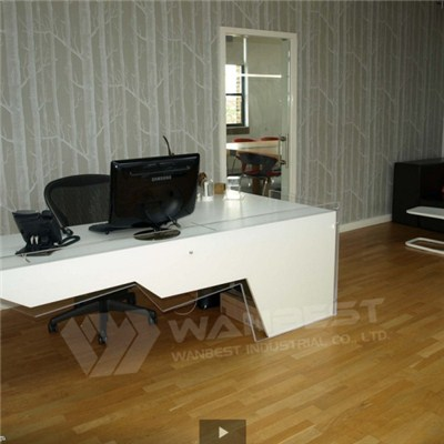 Manager Modern Simply Artificial Marble White Desk