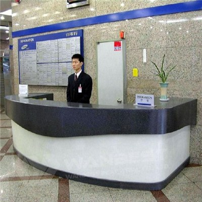 Guest Information Reception Counter