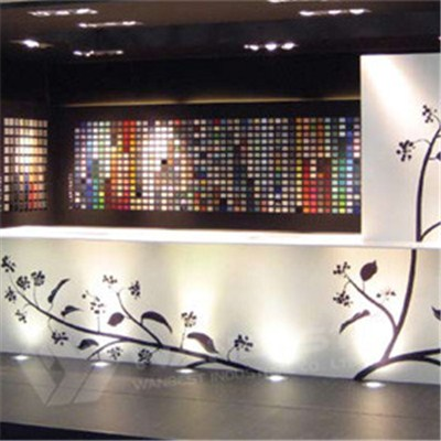 Nature Style Exhibition Reception Desk
