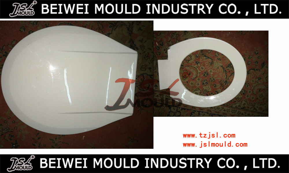 plastic injection toilet seat and cover mould