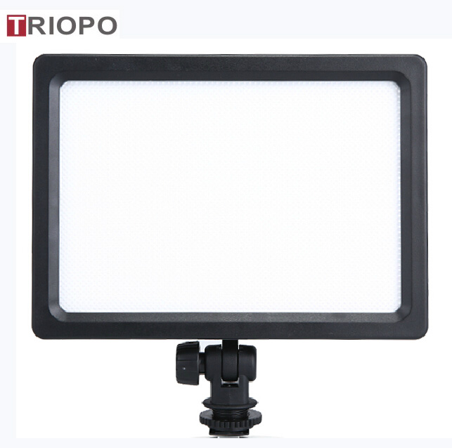 TRIOPO LED-204 high quality photo and video LED light for Nikon,Canon,Song,Pentax,Olympus camera light,3200K-55000K studio light