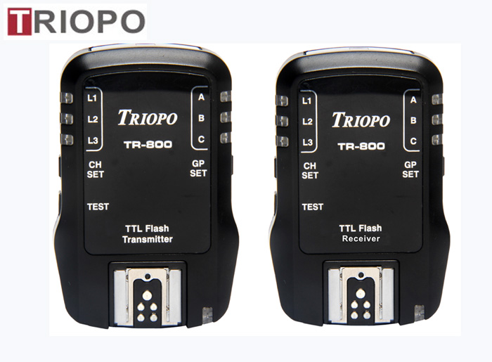 TRIOPO TR-800 Transmitter  Camera accessories/remote wireless TTL HSS 1/8000S Flash Trigger For Canon or NIkon