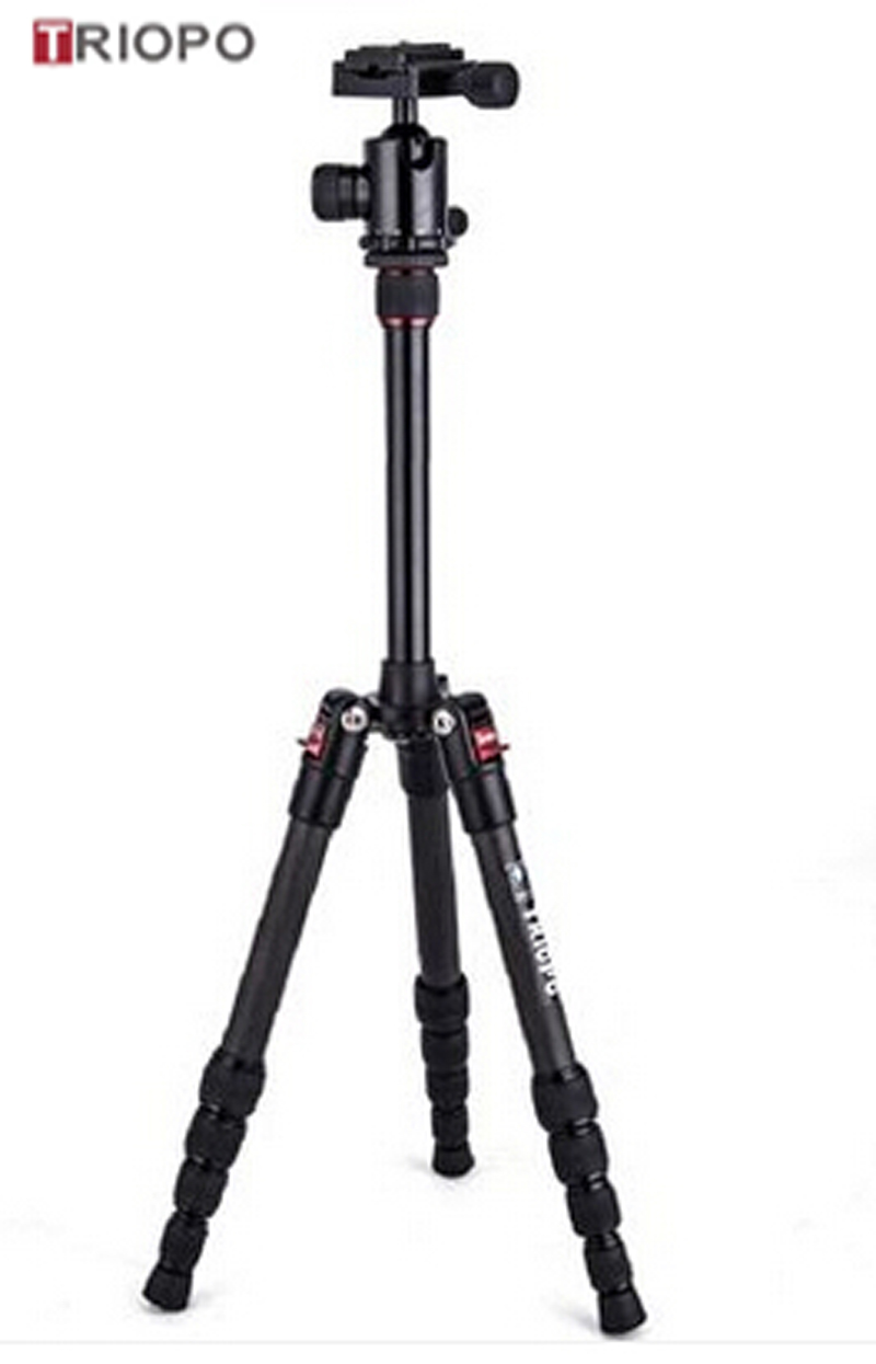 TRIOPO GT-2205+N-1 protable camera tripod kit ,marco tripod and camera tripod