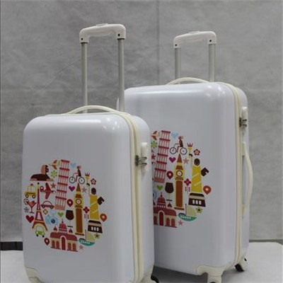 Printed Spinner Luggage