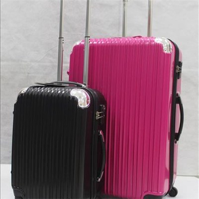 Abs Pc Trolley Luggage Set