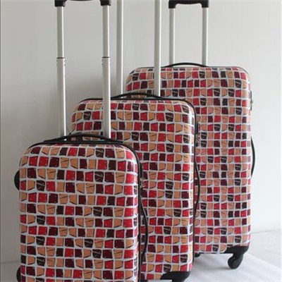 Printed Abs Travel Luggage