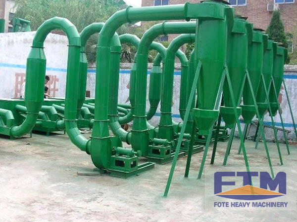 Ventilatory Ways of Fote Sawdust Drying Machine