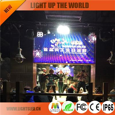 P3 rental indoor led display
