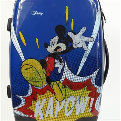 Cartoon Printed Suitcase