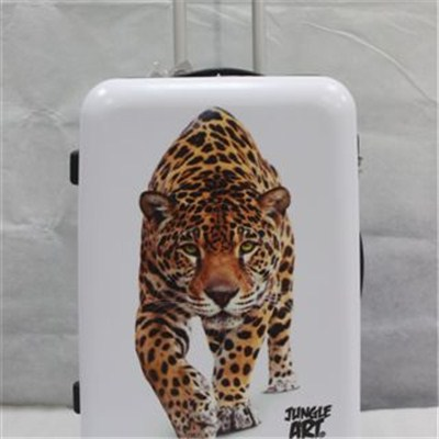 Animal Print Luggage