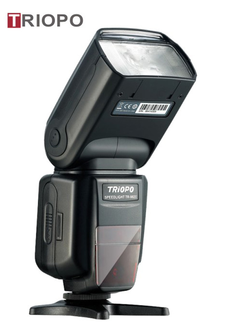 TRIOPO TR-985II color display speedlite ,camera flash light ,flash gun with TTL master and slave ,wireless function ,atuo zoom ,high speed sync 1/8000s