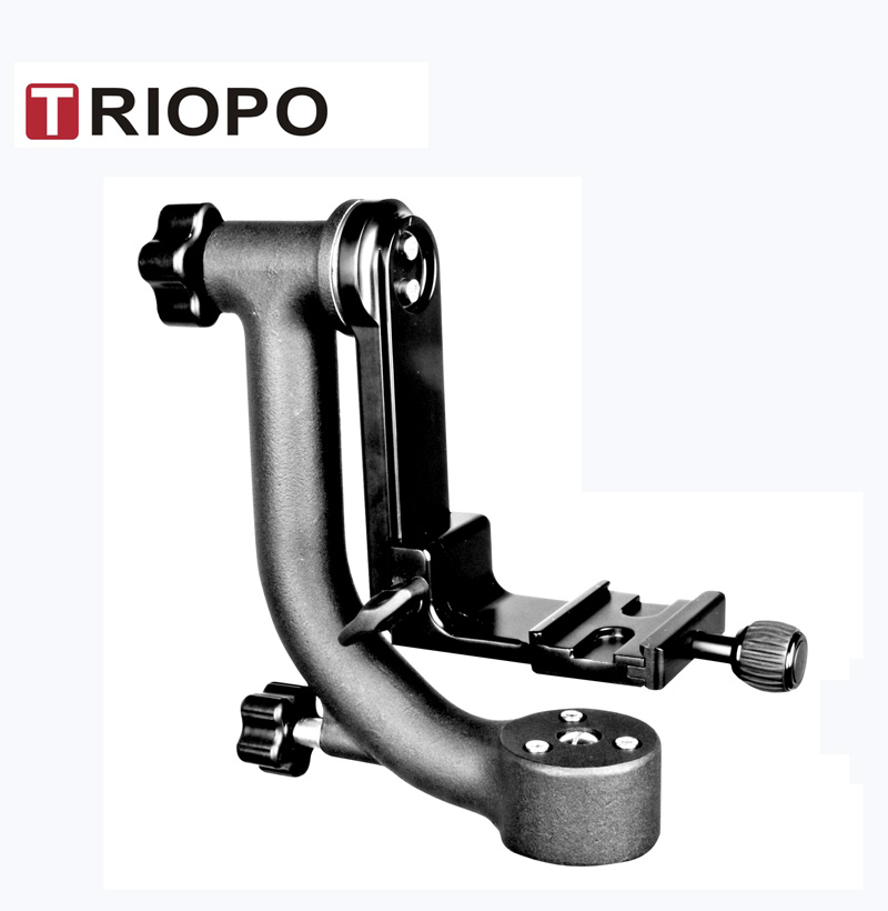 TRIOPO DG-3  gimbal head tilt head bird watching head with 1/4 screw