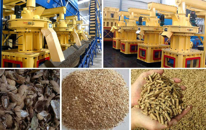 Crop Stalks Pellet Machine of Fote Machinery/ Crop Stalks Pellet Mill/ Corn Straw Pellet Mill