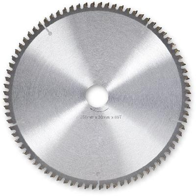 250mm 80 Tooth Cross Cut Saw Blade