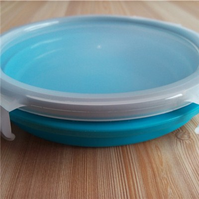 Round Shaped Silicone Folding Crisper
