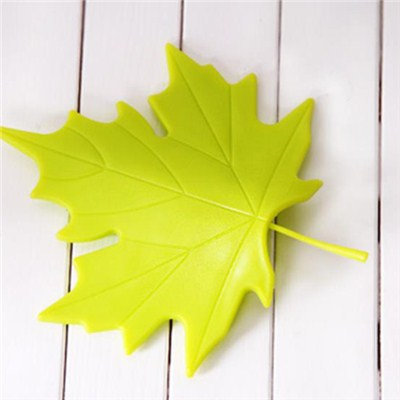 Silicone Maple Door Stopper
