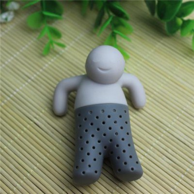 Silicone Little Man Tea Infuser
