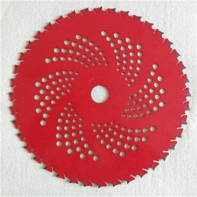 250mm 40 Tooth Red Color Brush Cutter