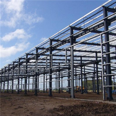 Large Span Fabric Space Steel Structure