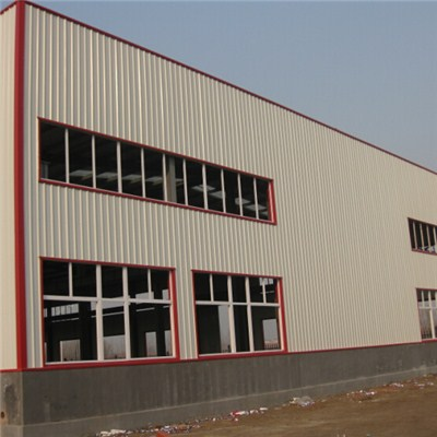 Steel Structure Processing Plant
