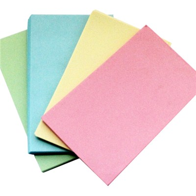 Colorful Index Card