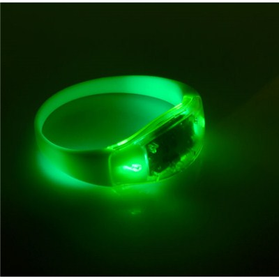 Silicone Bracelet With Mounted LED Devices