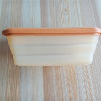 Rectangular Shaped Silicone Folding Crisper