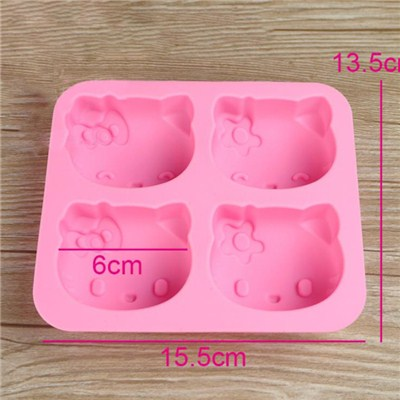 Cartoon Shape Silicone Cake Mold