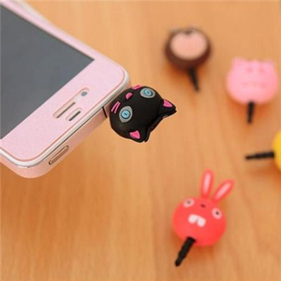 Mobile Phone Silicone Plug