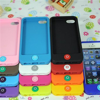 Silicone Phone Case For Iphone5 5s