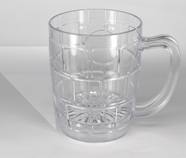 plastic mugs with handles 19oz Plastic Mug