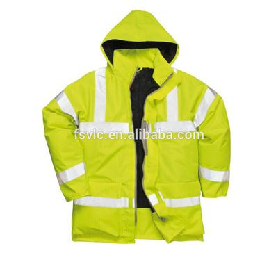 Flame Retardant Waterproof Rain Jacket
