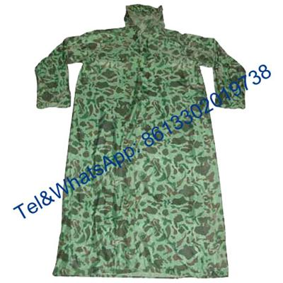 Navy Blue Army Green Digital Desert Camouflage Nylon Polyester Oxford Military Raincoat
