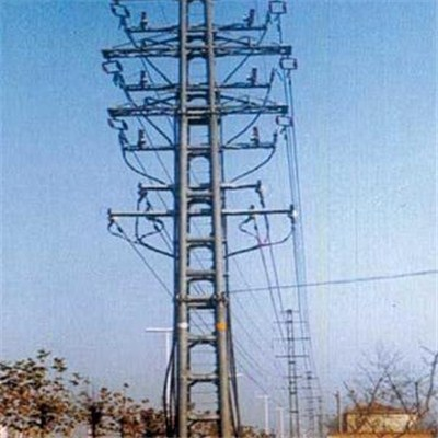 10kV Steel Power Pole